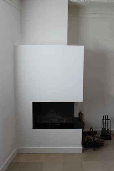 cheminée contemporaine d'angle Toulouse Cheminées iiio 1c