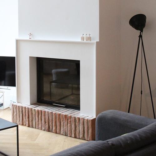 cheminée intemporelle de salon Toulouse Cheminées iiio 1