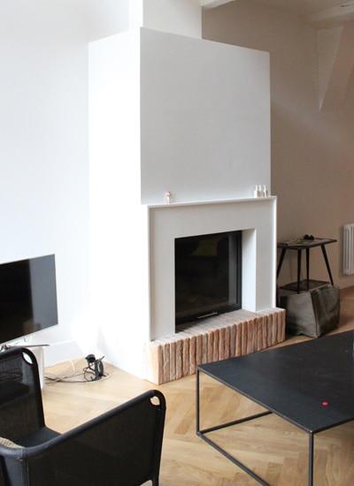 cheminée intemporelle de salon Toulouse Cheminées iiio 1a