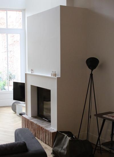cheminée intemporelle de salon Toulouse Cheminées iiio 1b