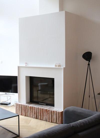 cheminée intemporelle de salon Toulouse Cheminées iiio 1d